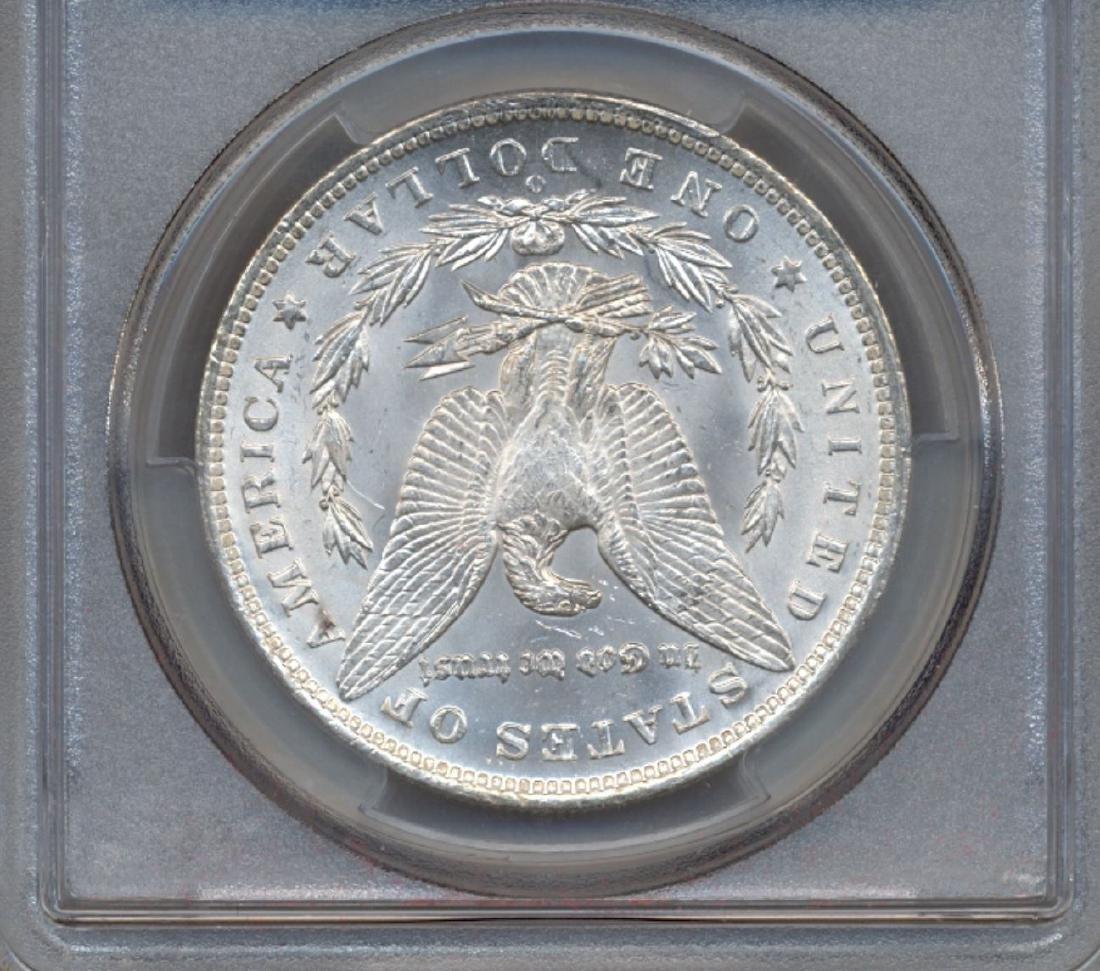 1885-O $1 Morgan Silver Dollar Coin PCGS MS65+ - 2