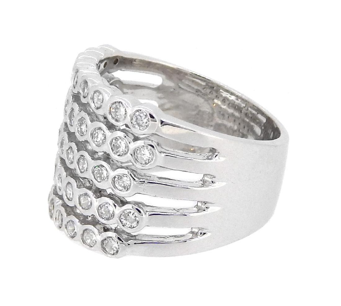 14KT White Gold 1.20ctw Diamond Ring - 2