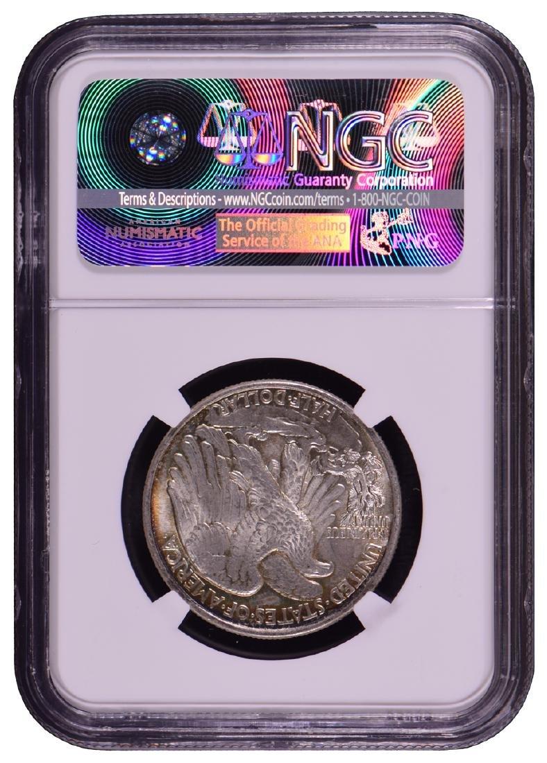 1943 Walking Liberty Half Dollar Coin NGC MS65 - 2