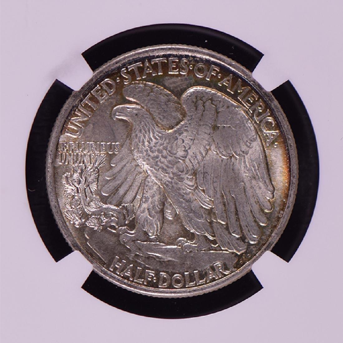 1943 Walking Liberty Half Dollar Coin NGC MS65 - 4