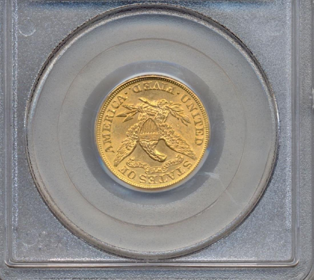 1900 $5 Liberty Head Half Eagle Gold Coin PCGS MS63 - 2