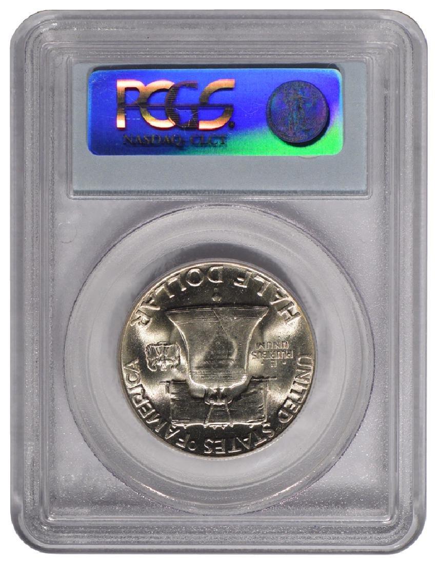 1948 Franklin Half Dollar Coin PCGS MS64FBL - 2