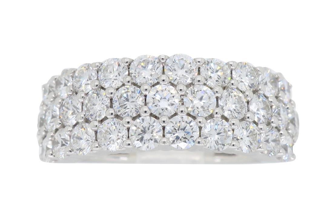 18KT White Gold 2.00ctw Diamond Ring
