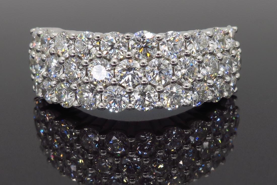 18KT White Gold 2.00ctw Diamond Ring - 2
