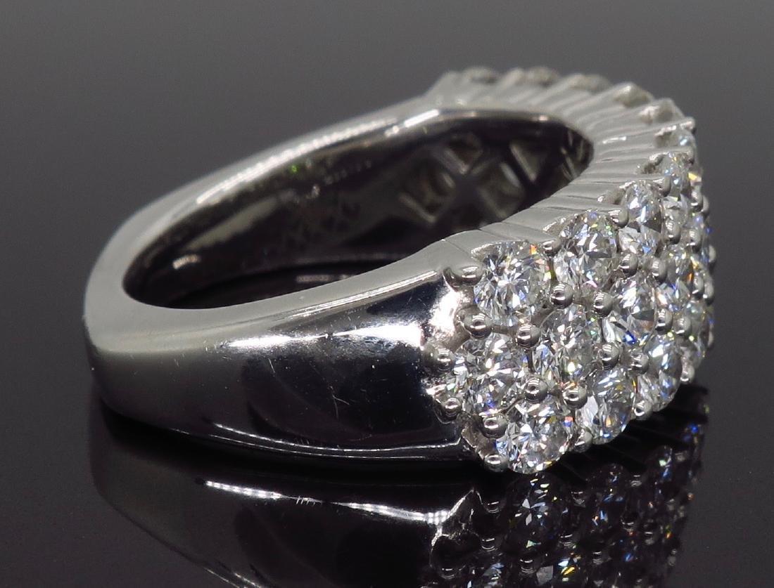 18KT White Gold 2.00ctw Diamond Ring - 4