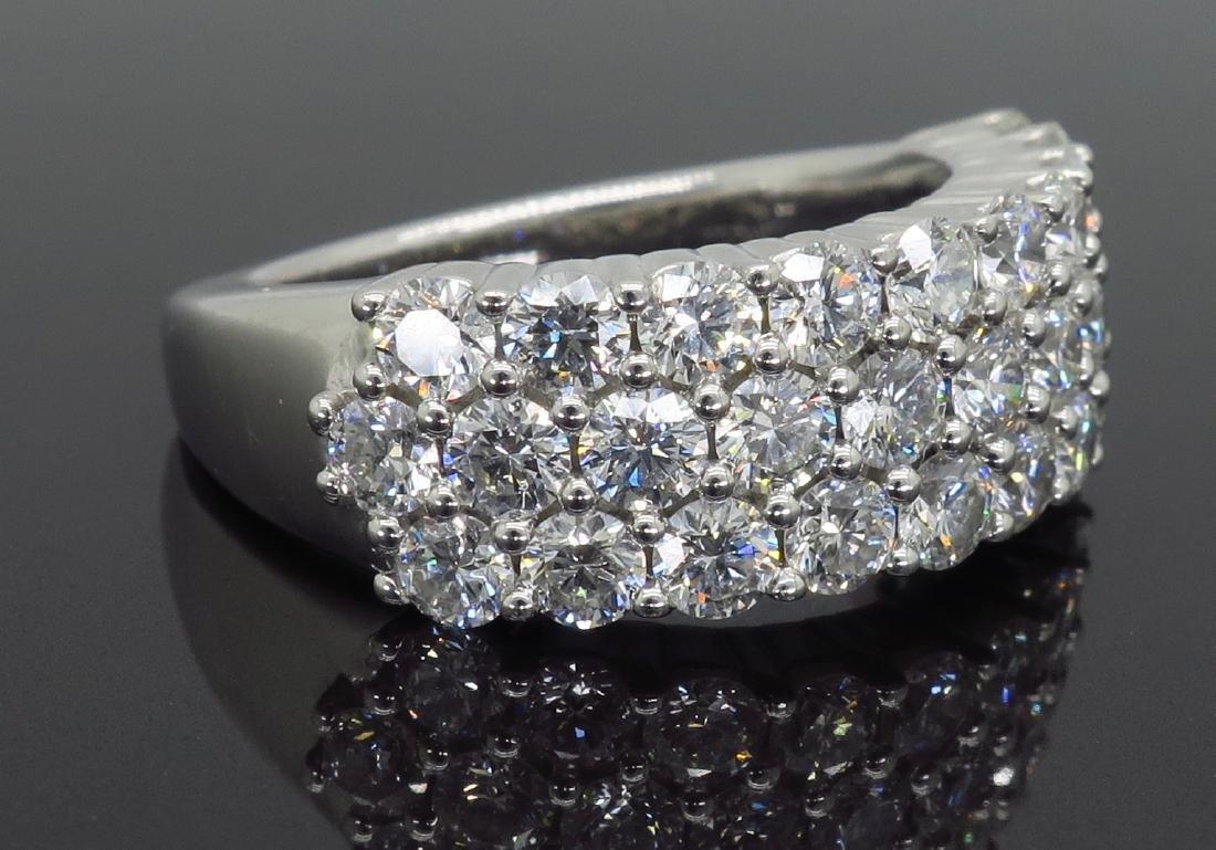 18KT White Gold 2.00ctw Diamond Ring - 6