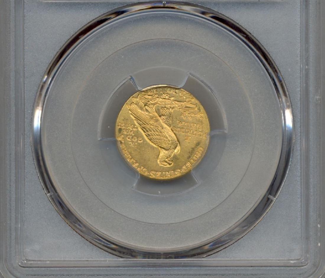 1913 $2.5 Indian Head Quarter Eagle Gold Coin PCGS MS63 - 2