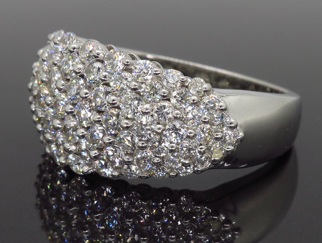 14KT White Gold 1.60ctw Diamond Ring - 3