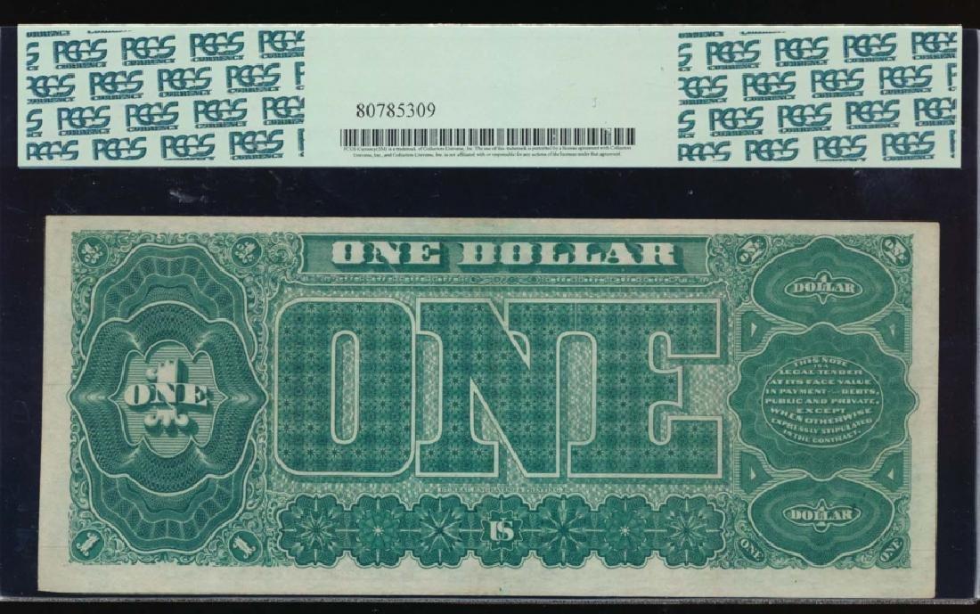 1890 $1 Treasury Note PCGS 40 - 2