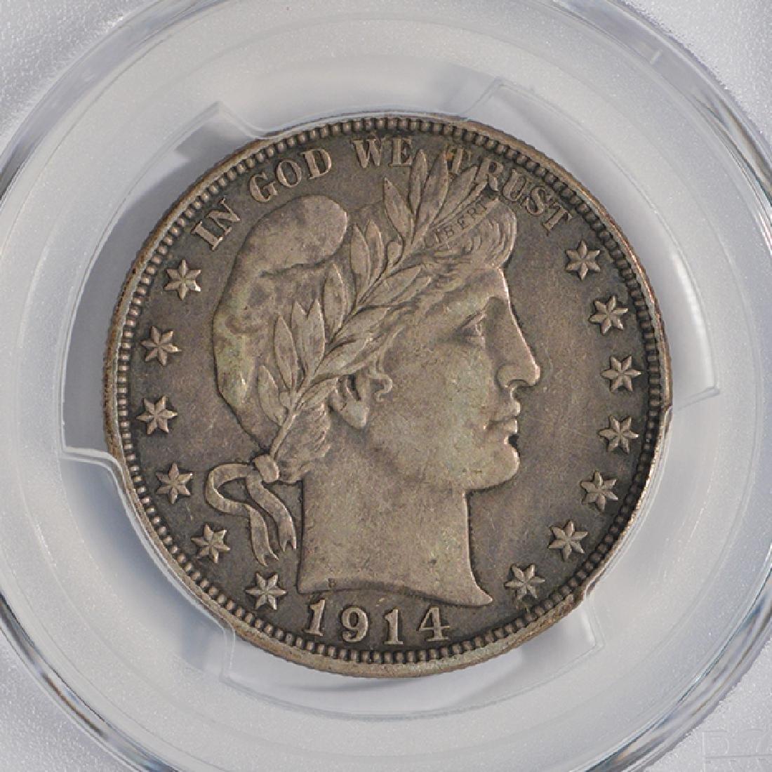 1914-S Barber Half Dollar PCGS XF45 - 3