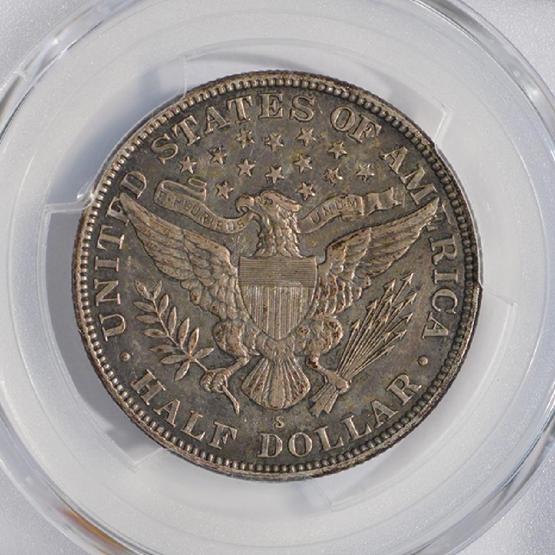 1914-S Barber Half Dollar PCGS XF45 - 4