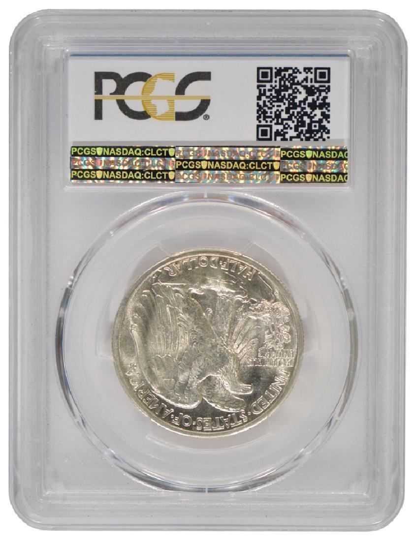 1943-S Walking Liberty Half Dollar Coin PCGS MS65 - 2