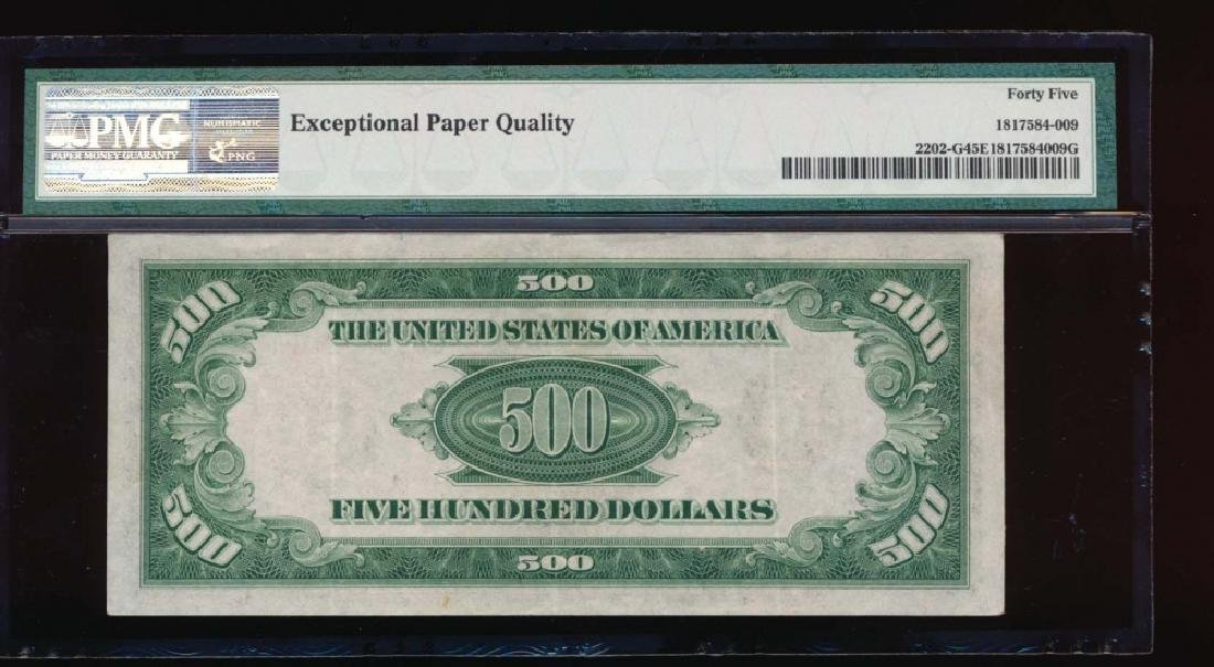 1934A $500 Chicago Federal Reserve Note PMG 45EPQ - 2