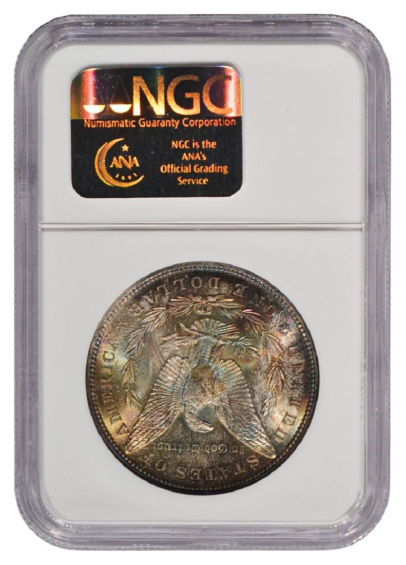 1898 $1 Morgan Silver Dollar Coin NGC MS65 - 2