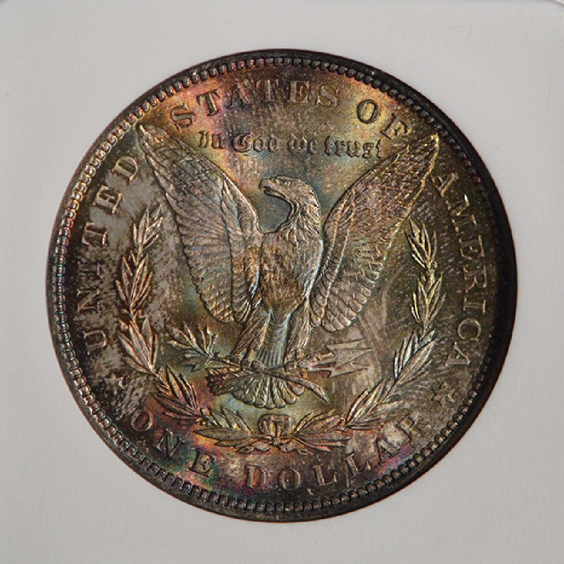 1898 $1 Morgan Silver Dollar Coin NGC MS65 - 4