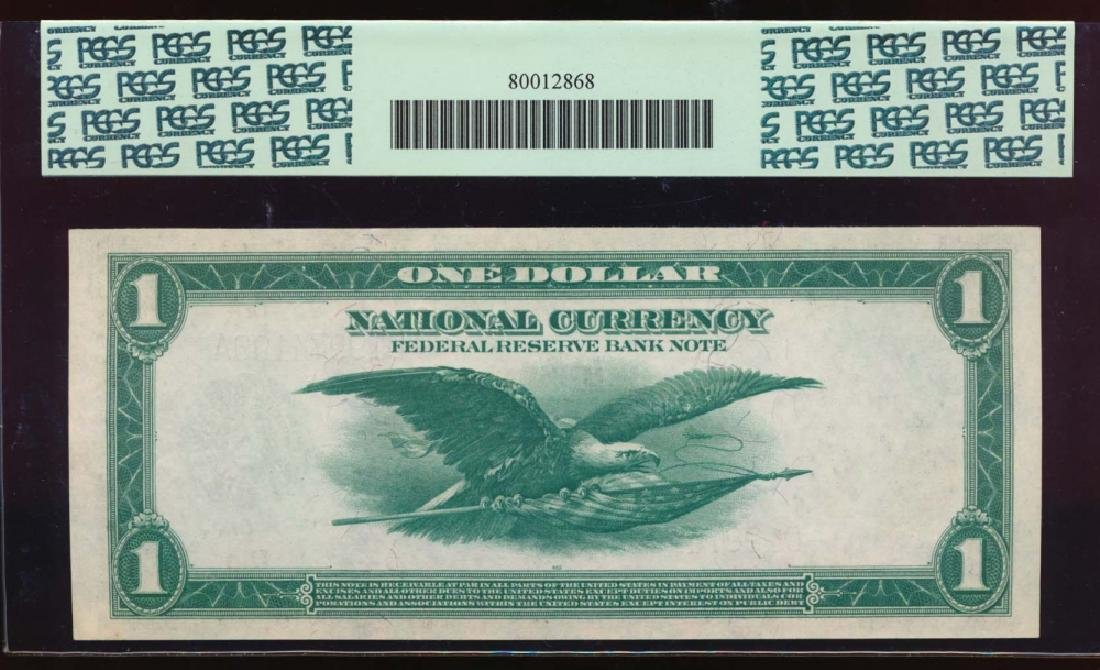 1918 $1 Cleveland Federal Reserve Bank Note PCGS 67PPQ - 2