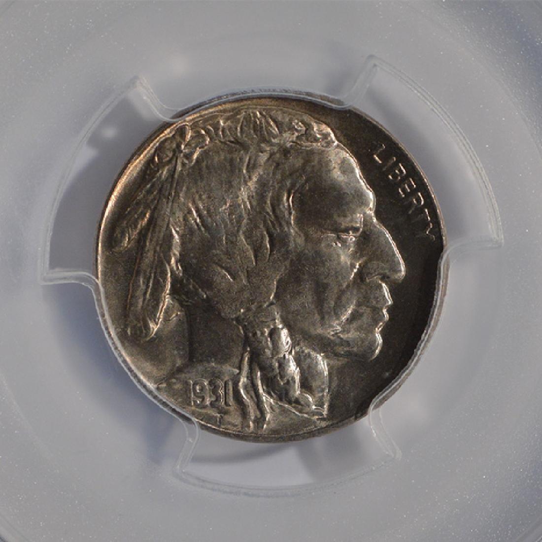 1931-S Buffalo Nickel PCGS MS65 - 3