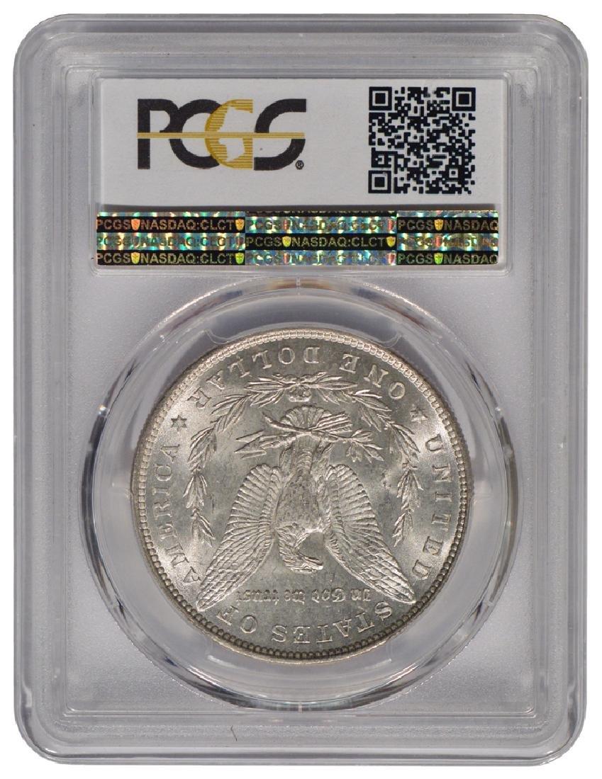 1880 $1 Morgan Silver Dollar Coin PCGS MS64 - 2
