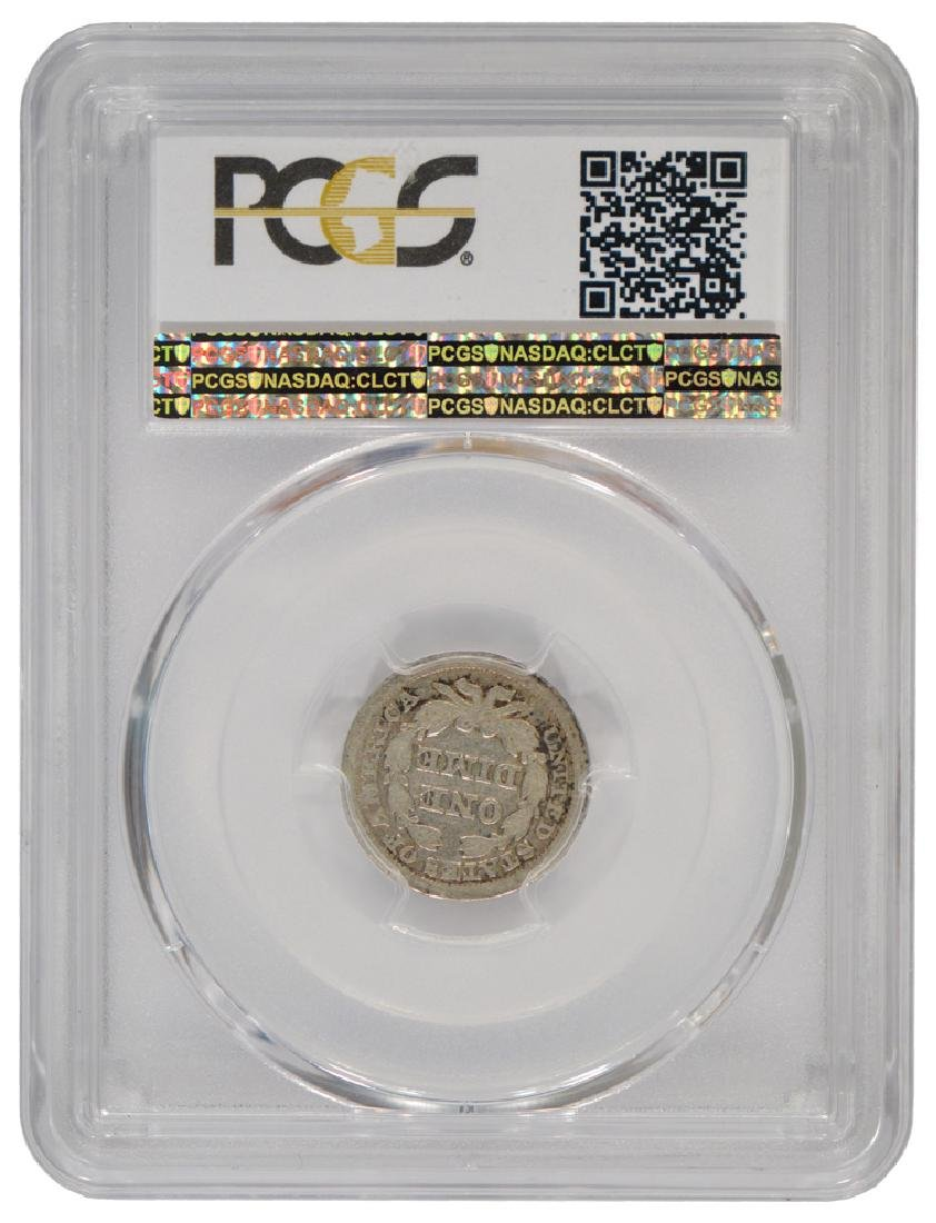 1846 Liberty Seated Dime Coin PCGS G06 - 2