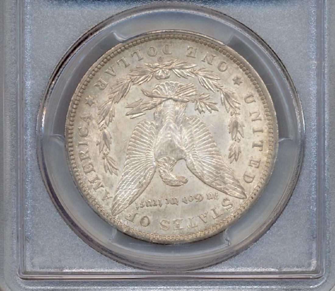 1897-O $1 Morgan Silver Dollar Coin PCGS AU58 - 2