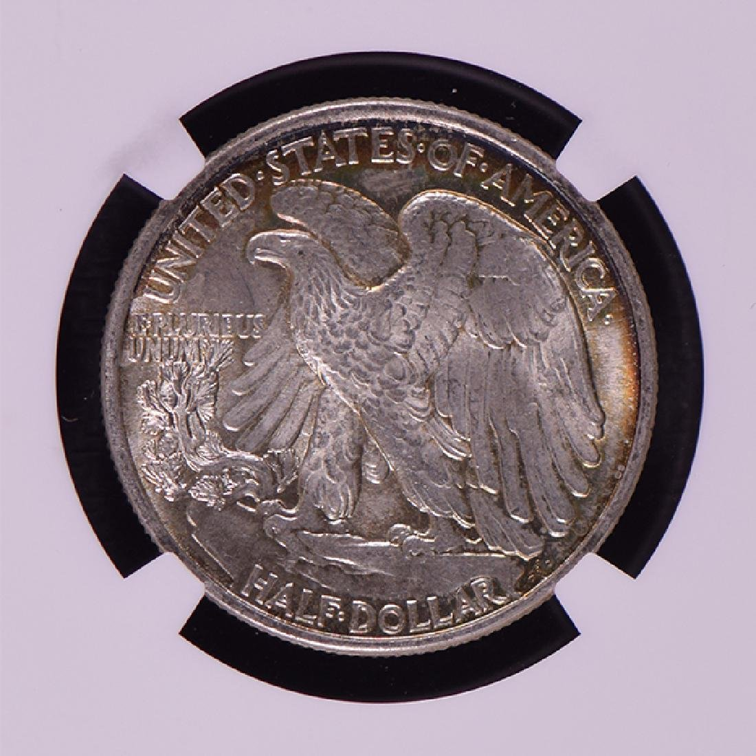 1943 Walking Liberty Half Dollar Coin NGC MS65 - 4