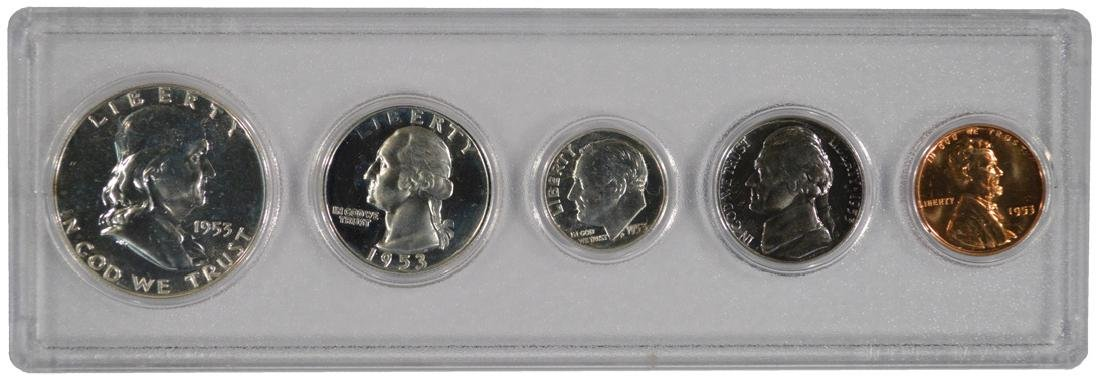 1953 Silver Proof Set