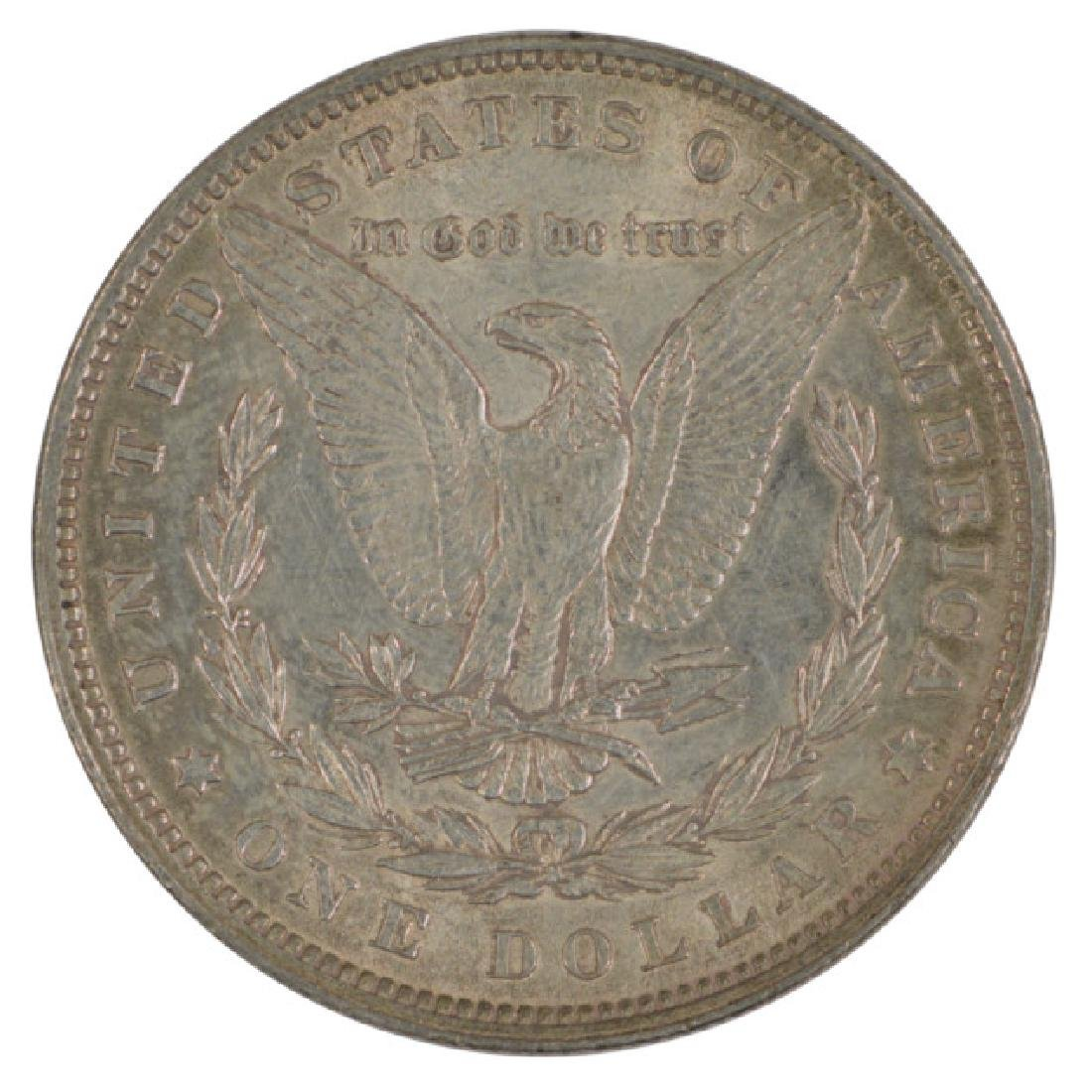 1880 $1 Morgan Silver Dollar Coin - 2