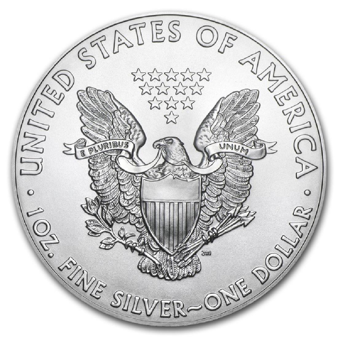 2019 1 oz American Eagle Silver Coin - 2