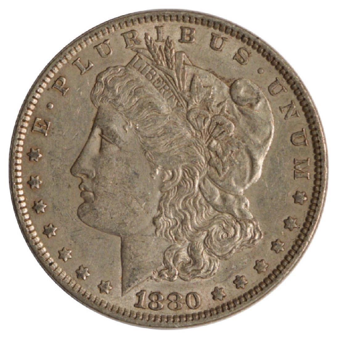 1880 $1 Morgan Silver Dollar Coin