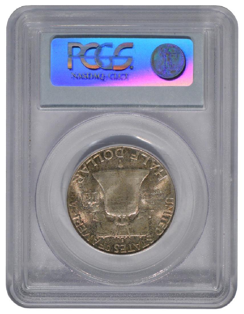 1949-S Franklin Half Dollar Coin PCGS MS65 - 2