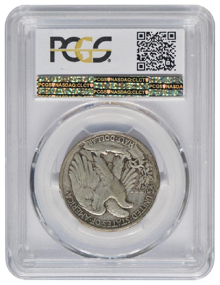 1921-S Walking Liberty Half Dollar PCGS VF20 - 2