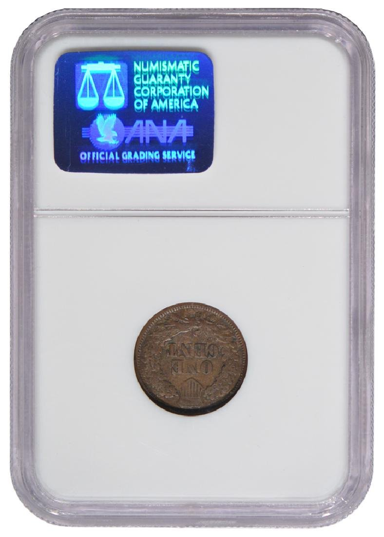 1877 Indian Cent NGC F15BN - 2