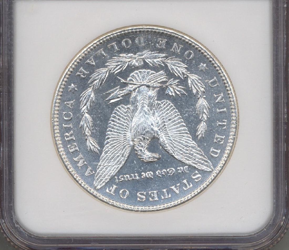 1885 $1 Morgan Silver Dollar Coin NGC MS64DPL - 2