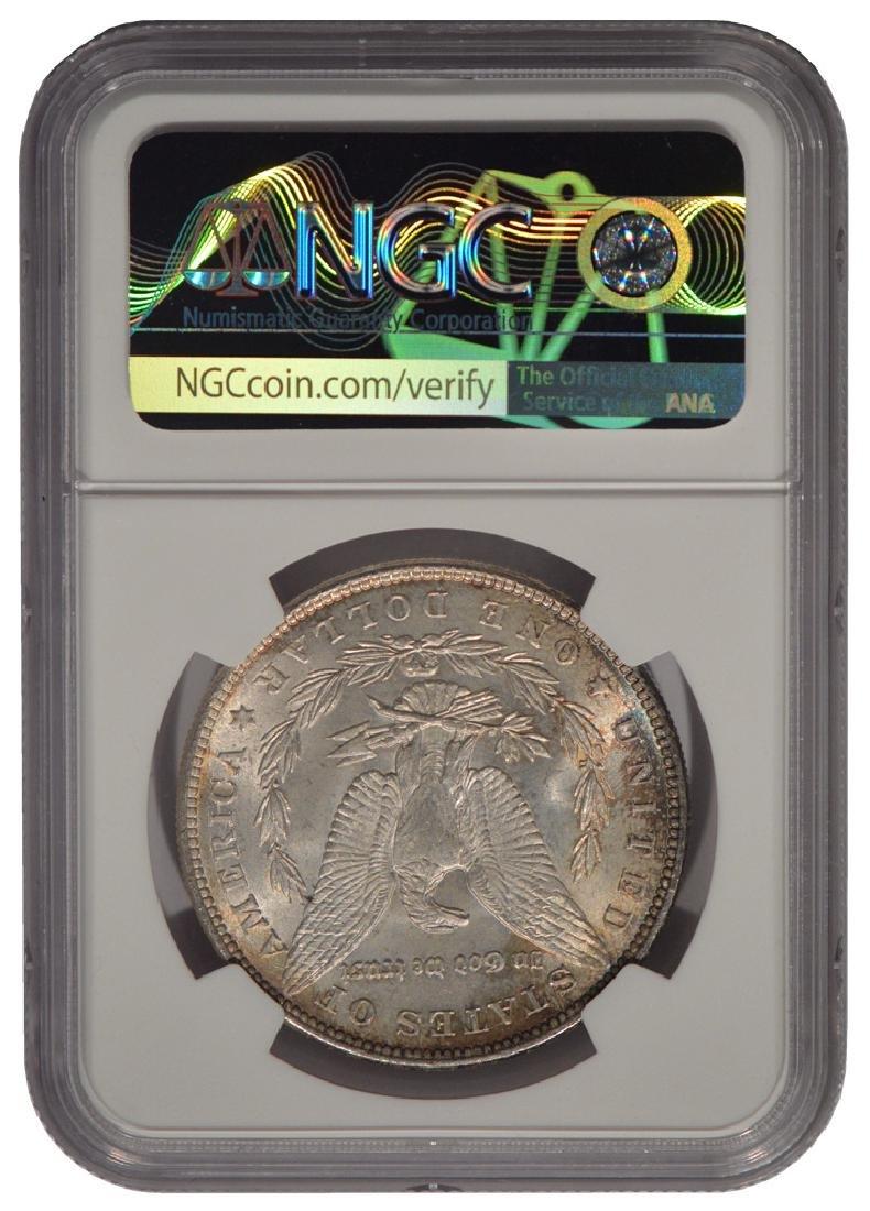 1883 $1 Morgan Silver Dollar Coin NGC MS64 - 2