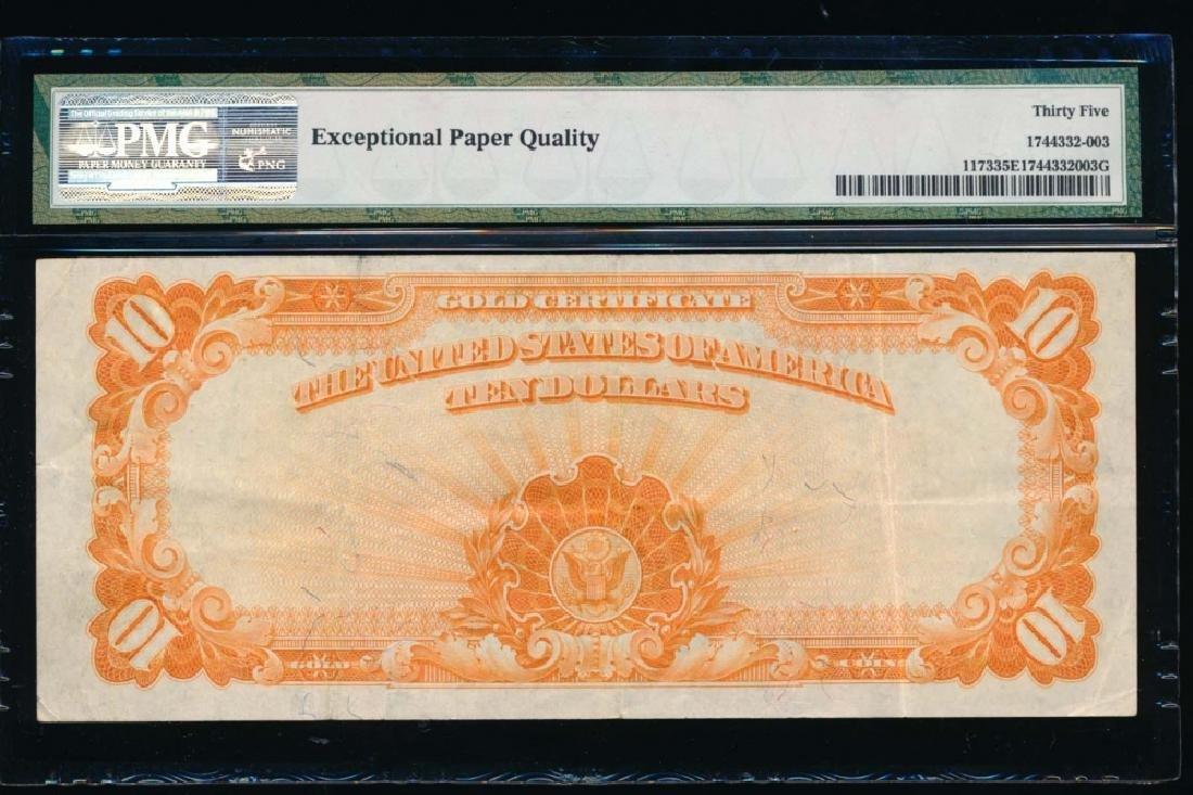 1922 $10 Gold Certificate PMG 35EPQ - 2