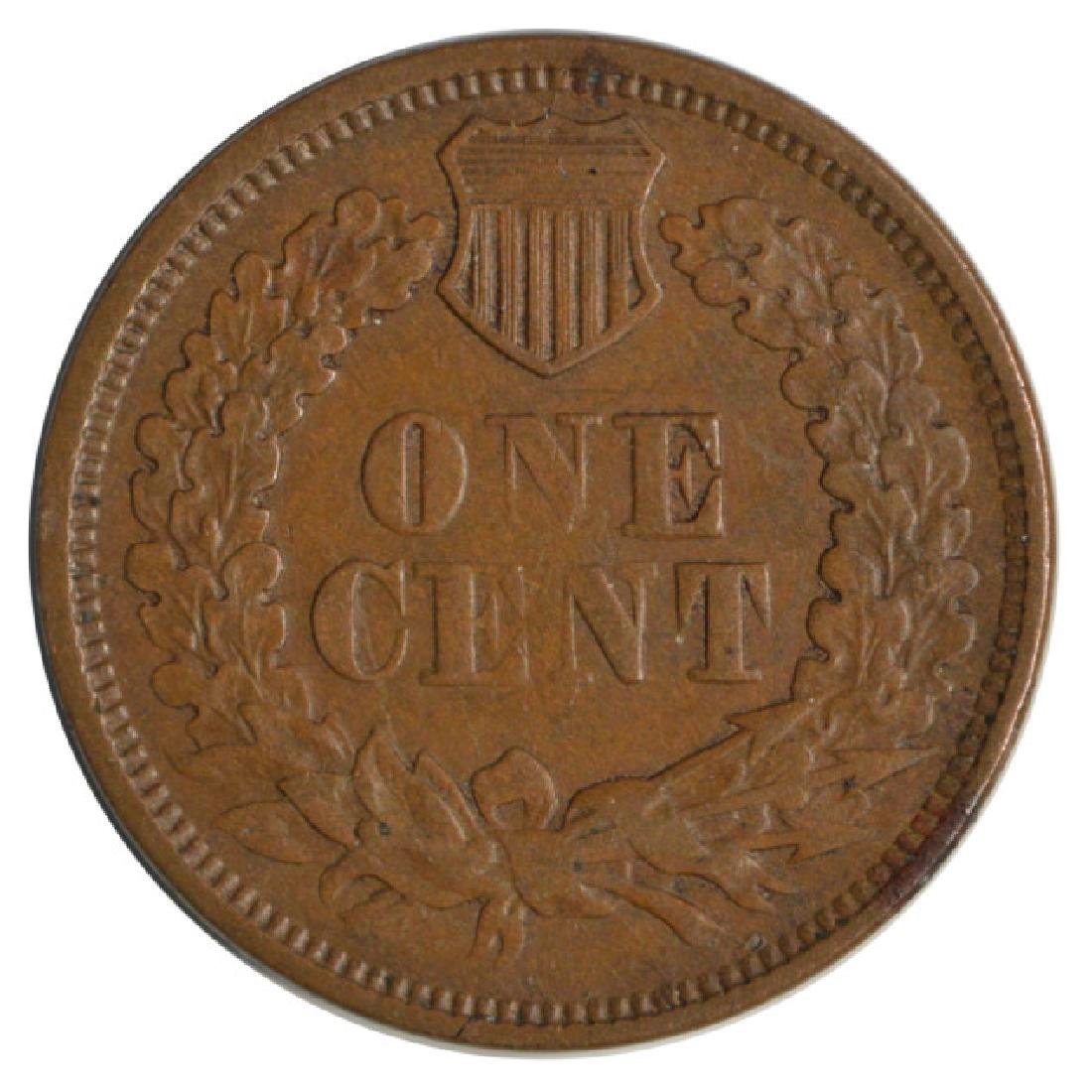 1867 Indian Head Cent - 2