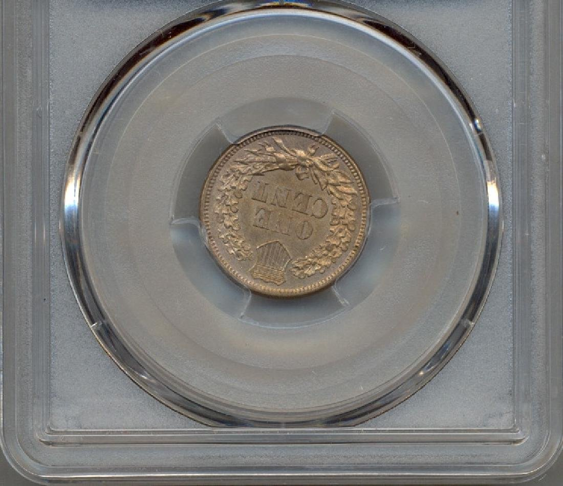 1861 Indian Head Cent PCGS MS62 - 2