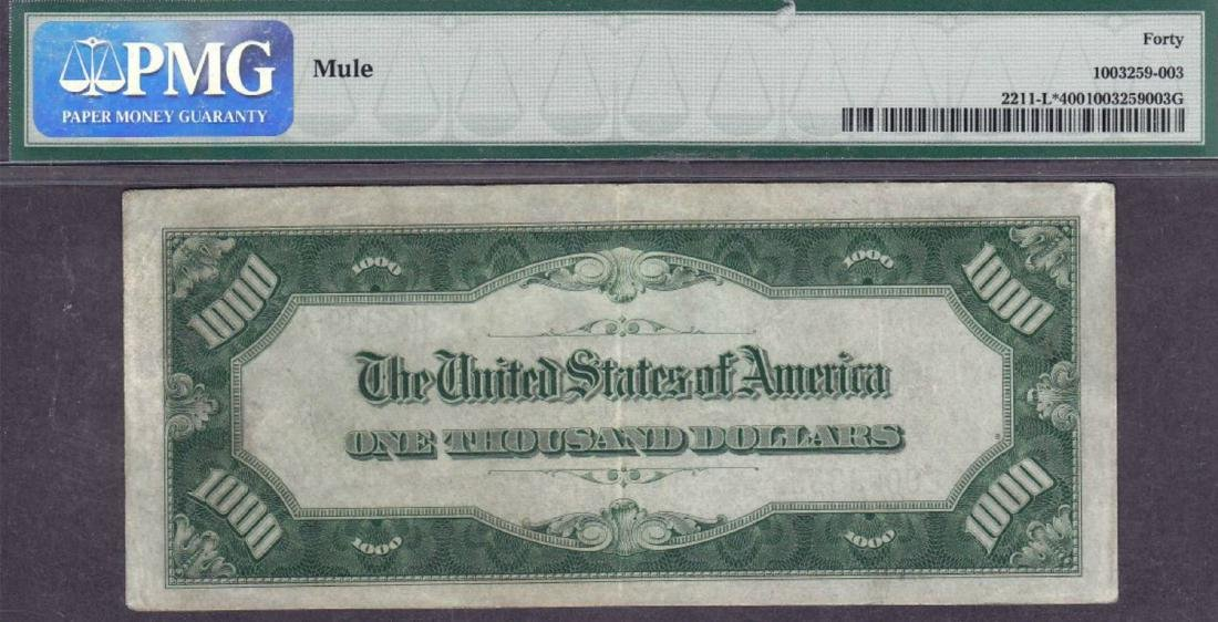 1934 $1000 San Francisco Federal Reserve Star Note PMG - 2