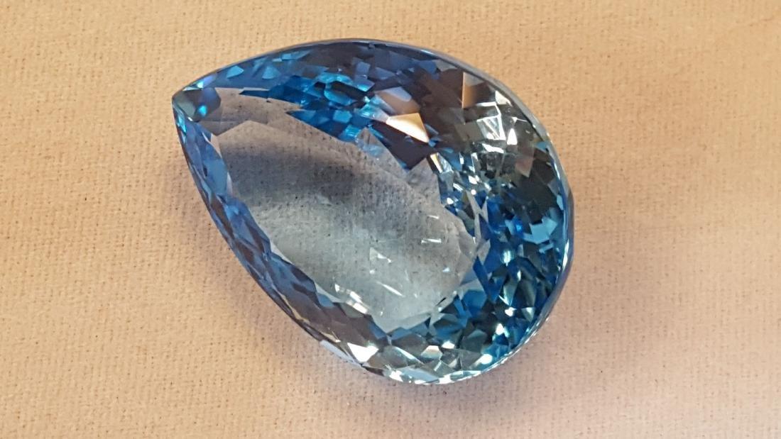 53.15ct Swiss Blue Topaz Gemstone