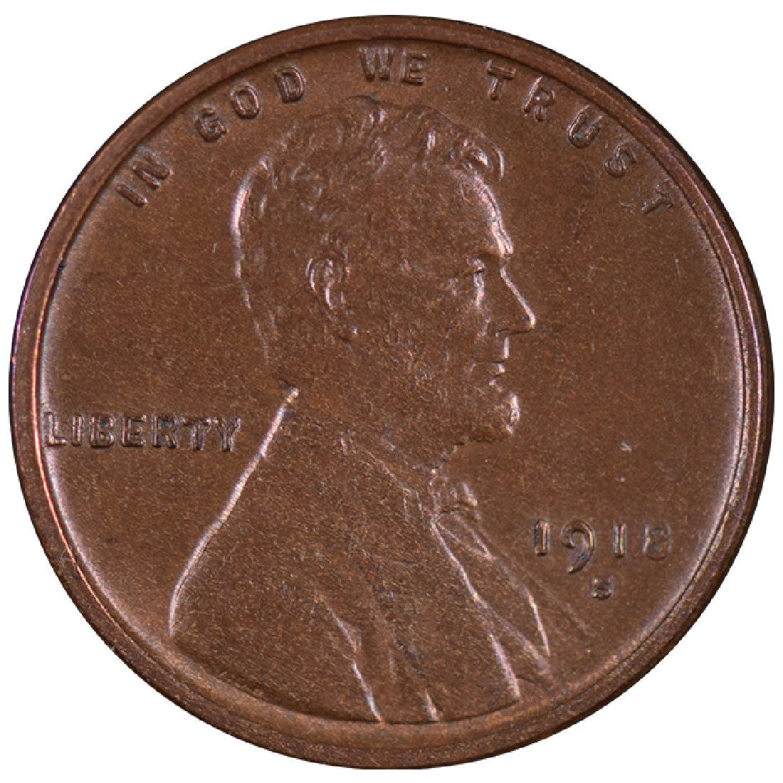 1918-S Lincoln Cent Coin