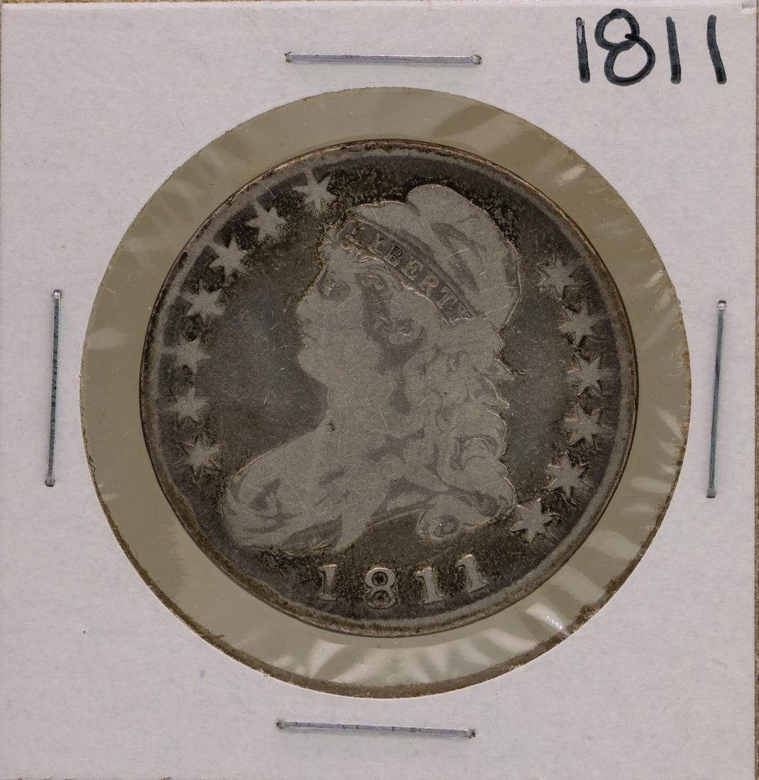 1811 Capped Bust Half Dollar Coin