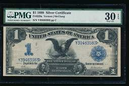 1899 $1 Fr. 229a Black Eagle Silver Certificate PMG