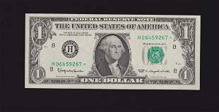 1963 $1 STAR St Louis Federal Reserve Note