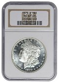 1879-S $1 Morgan Silver Dollar NGC MS67DPL