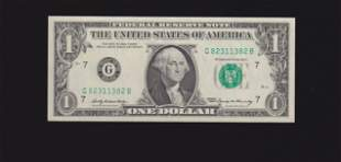 1969 $1 Chicago Federal Reserve Note