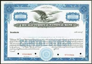 6 National Bank Stock Certificates