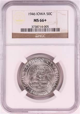 1946 Iowa Centennial Commemorative Half Dollar Coin NGC