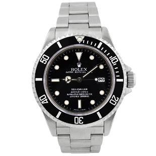 Rolex Men's Sea-Dweller Stainless Steel Watch