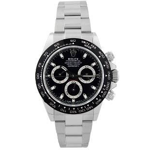Rolex Men's Daytona Stainless Steel Watch