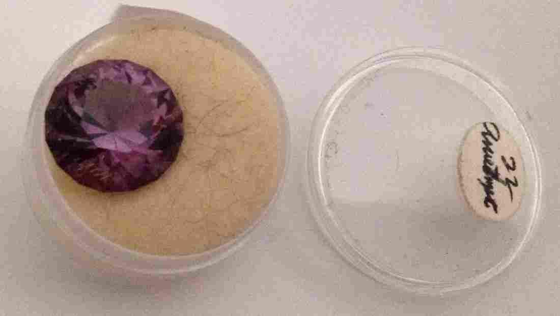 Estate amethyst loose gemstone